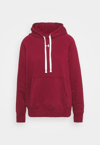 RIVAL HOODIE - Mikina skapucí - red