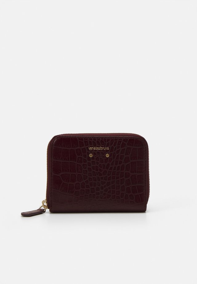 SMALL ZIP - Wallet - bordeaux