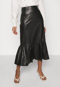 EDITED - WREN SKIRT - A-line skirt - schwarz - 0