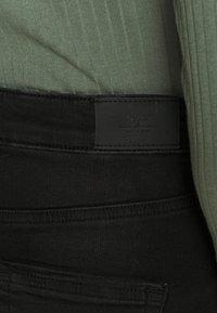 ONLY - ONLBLUSH - Minifalda - black denim - 3