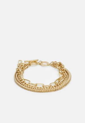 PCLINNY COMBI BRACELET - Armbånd - gold-coloured