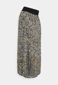 Esprit Maternity - SKIRT LONG - Maxi skirt - black ink - 0