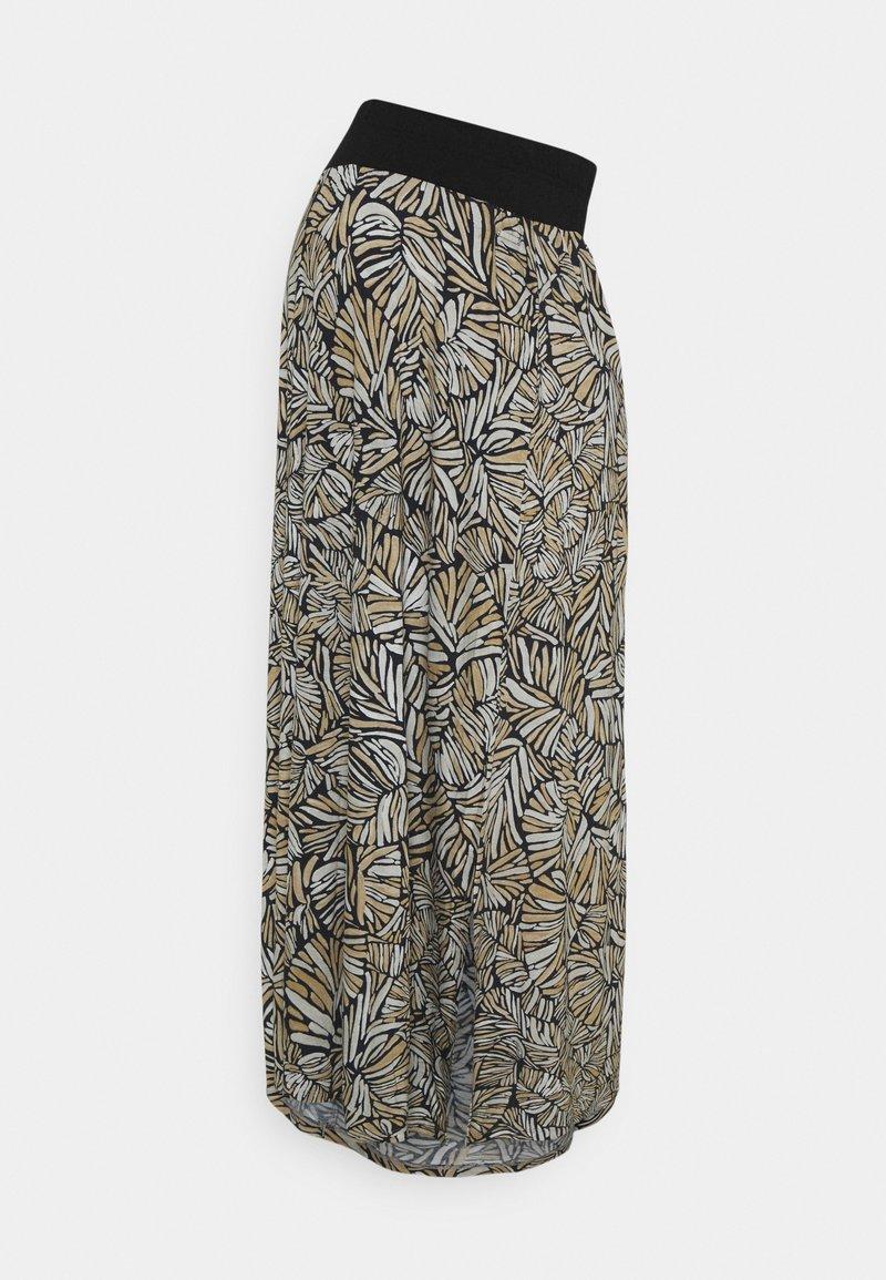 Esprit Maternity - SKIRT LONG - Maxi skirt - black ink
