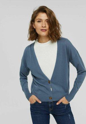 Cardigan - grey blue