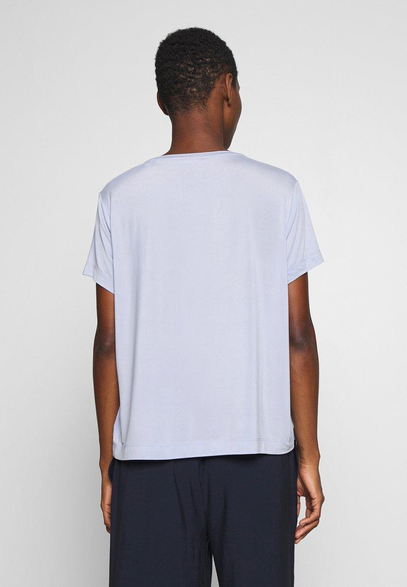 Opus - SUPRO - T-shirts - morning blue
