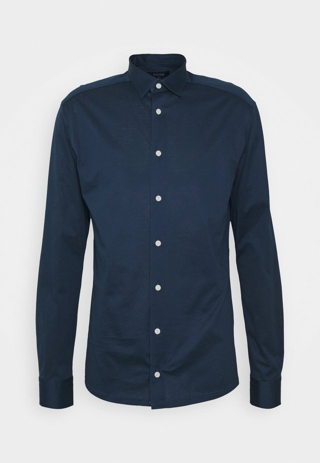 SLIM SHIRT - Camicia - navy