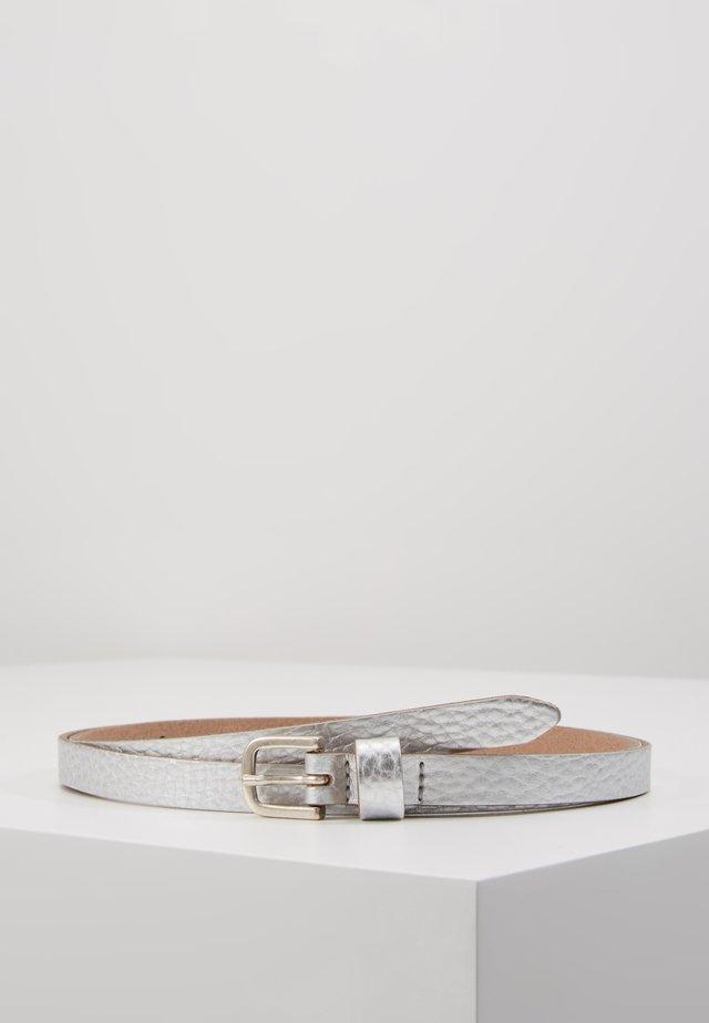Gürtel - silber metallic