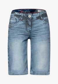 Cecil - Jeansshorts - mid blue wash - 3