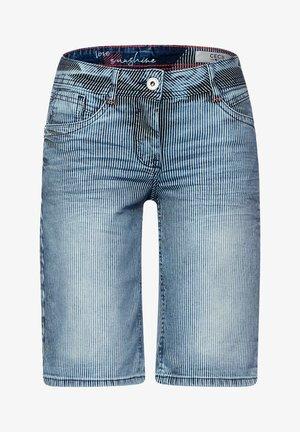 Denim shorts - mid blue wash