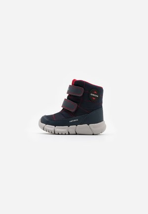 FLEXYPER BOY ABX - Winter boots - navy/red