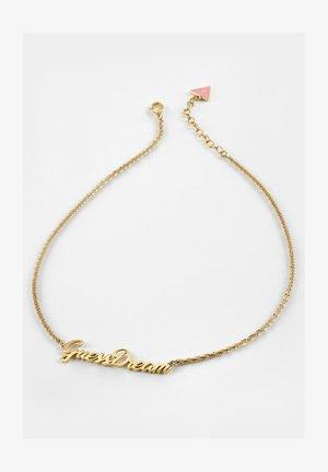 DREAM & LOVE - Necklace - goldenfarbe