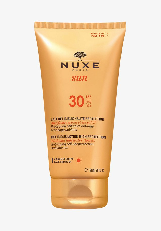 NUXE SUN LAIT DÉLICIEUX HAUTE PROTECTION DELICIOUS LOTION HIGH P - Sun protection - -