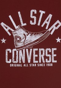 Converse - COLLEGIATE SHOE TEE - T-shirt con stampa - team red - 2