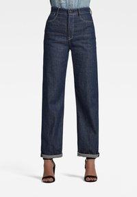 G-Star - TEDIE ULTRA HIGH LONG STRAIGHT - Straight leg jeans - raw denim - 0