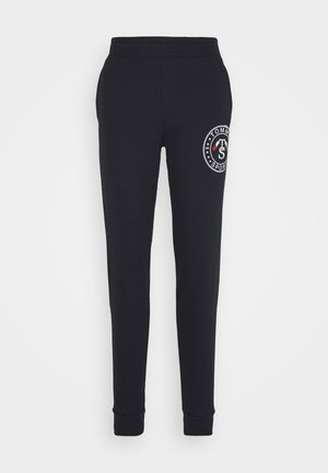 CUFF GRAPHIC  - Tracksuit bottoms - blue