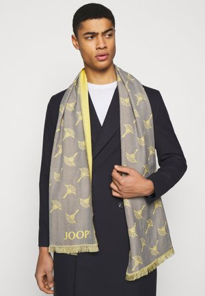 FERIS UNISEX - Scarf - yellow/grey