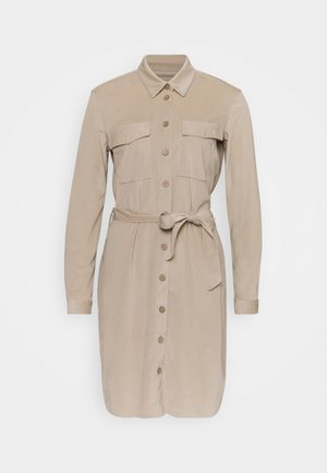 SOFI - Shirt dress - cement