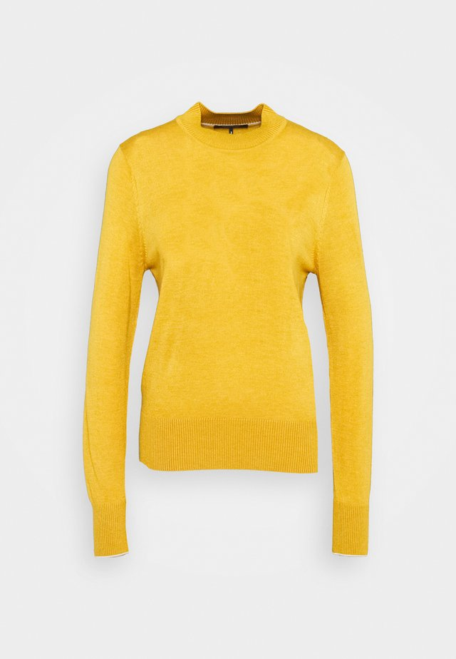 CLASSIC CREWNECK - Jersey de punto - marigold melange