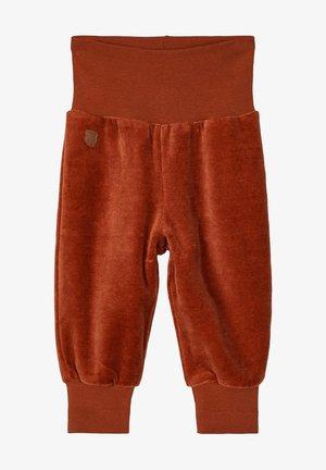 NBMNAVEL BABY - Trousers - burnt brick