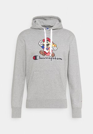 HOODED NINTENDO - Sweatshirt - mottled grey