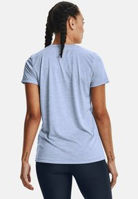 Under Armour - TECH TWIST - Basic T-shirt - washed blue - 2