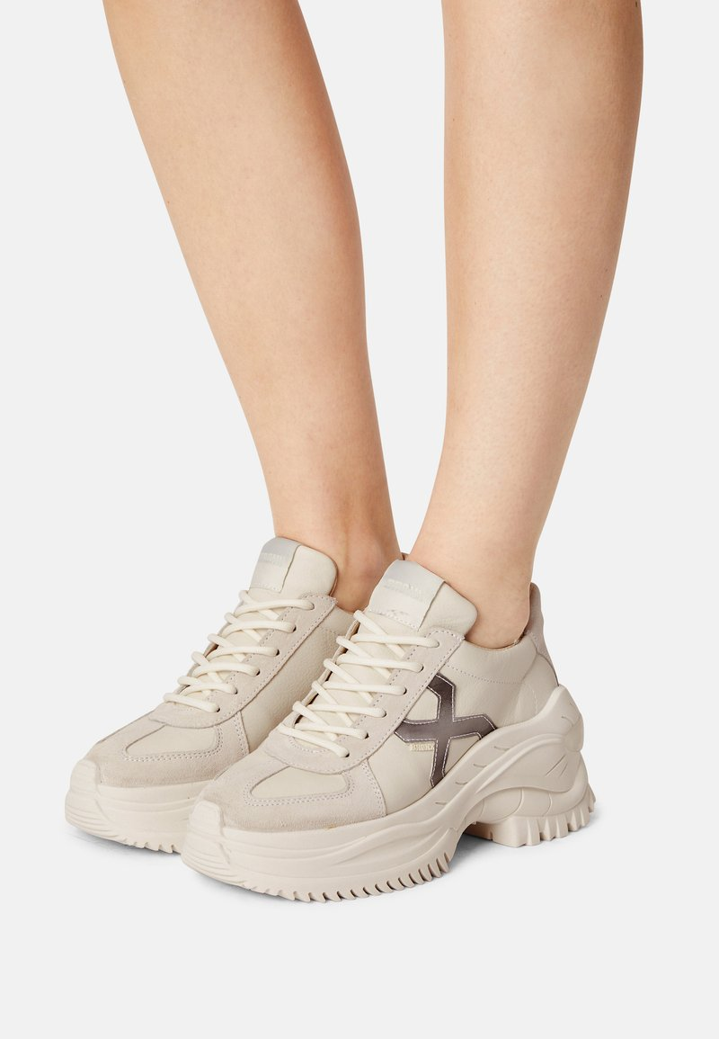 Bronx - CHAINY - Trainers - off white