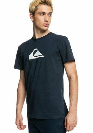 COMP LOGO - T-shirt imprimé - navy blazer