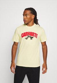 Carhartt WIP - BENT - Print T-shirt - flour - 0