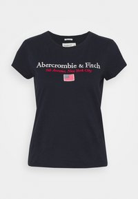 Abercrombie & Fitch - DESTINATION - Print T-shirt - navy - 4