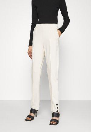 ROMA SNAP PANTS - Kalhoty - cream