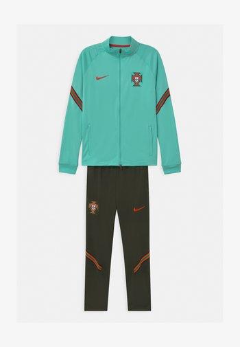 PORTUGAL SET UNISEX - National team wear - mint/sequoia/sport red