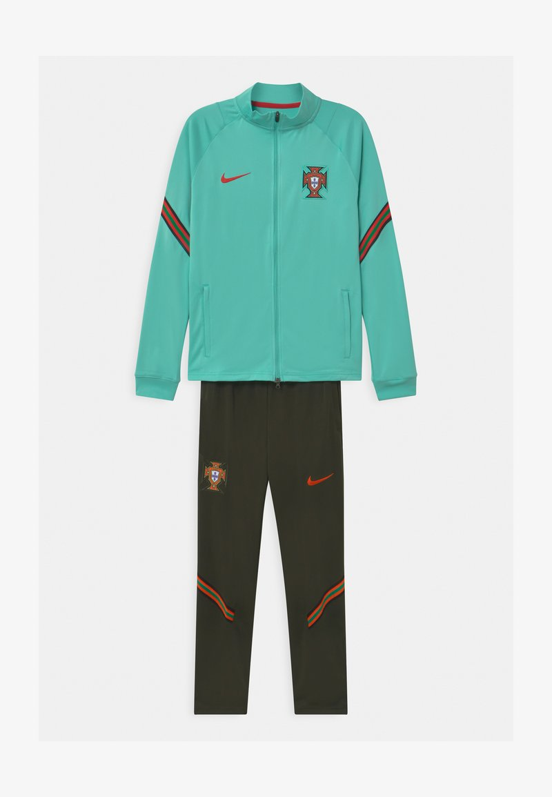 Nike Performance - PORTUGAL SET UNISEX - National team wear - mint/sequoia/sport red