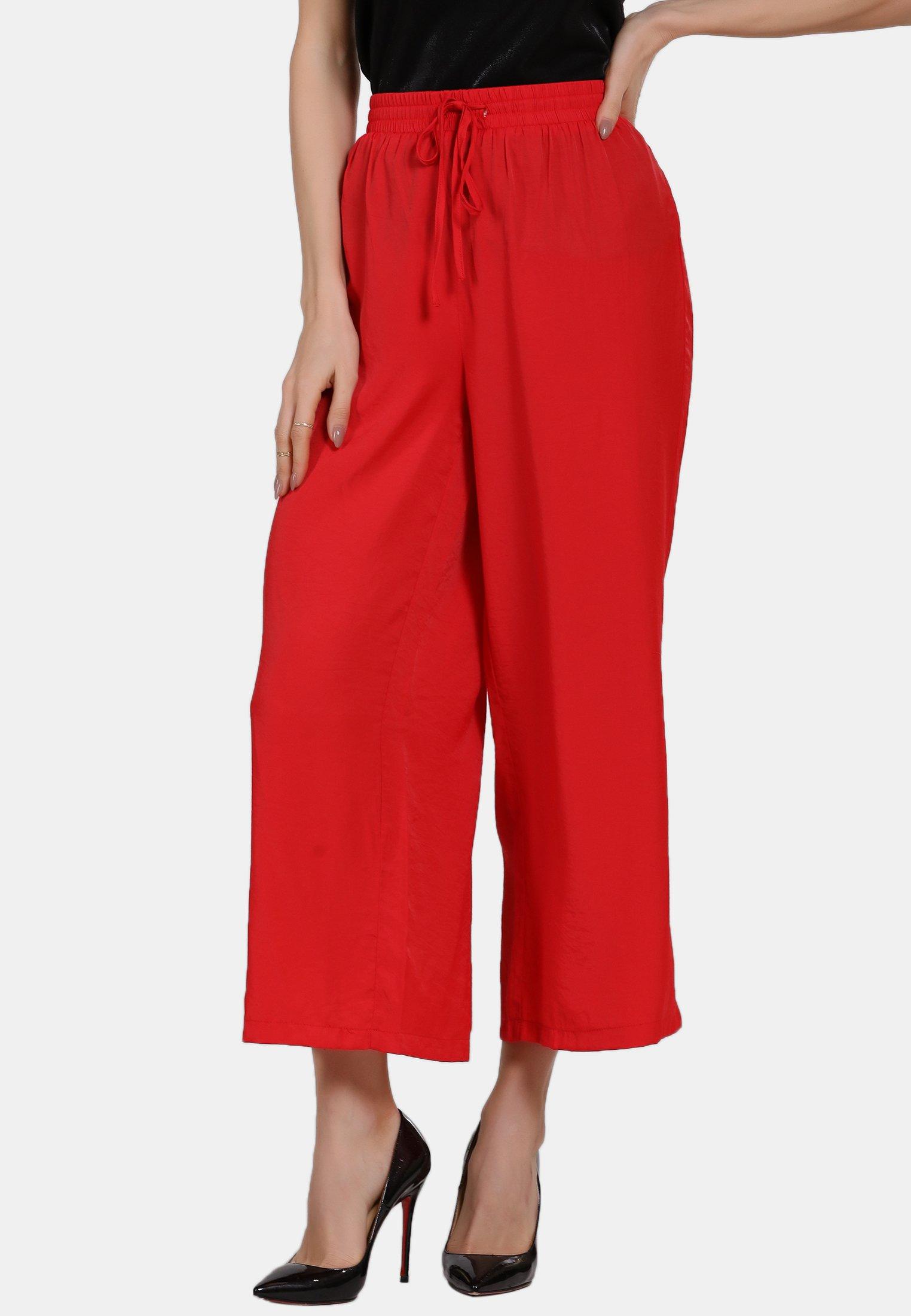 New Lower Prices Women's Clothing faina Trousers rot 7MErtSMjx