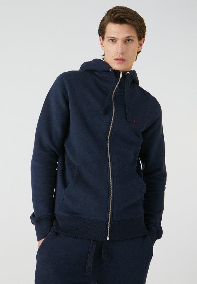 GAABRIEL - Zip-up hoodie - navy
