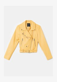 TALLY WEiJL - Faux leather jacket - yellow - 4