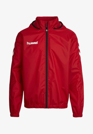 CORE - Soft shell jacket - true red