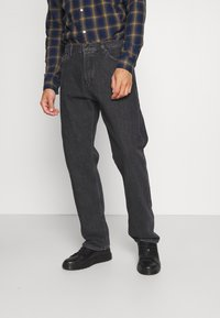 Weekday - SPACE STRAIGHT - Jeans bootcut - nova black - 0