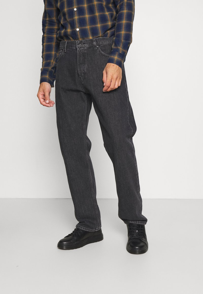 Weekday - SPACE STRAIGHT - Jeans bootcut - nova black