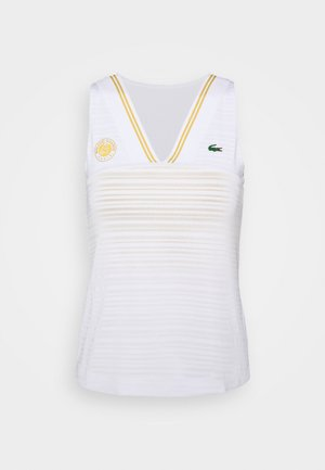TENNIS TANK  - Top - white/sunny/pineapple