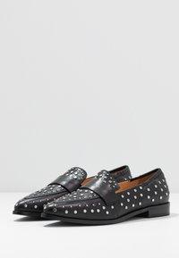 Copenhagen Shoes - Nazouvací boty - black - 4
