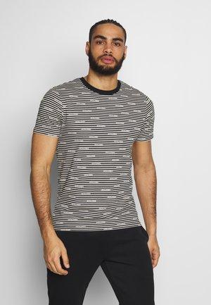 JCOMIKS TEE CREW NECK - Print T-shirt - black