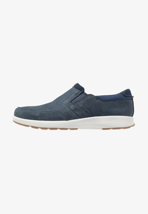 UN TRAIL STEP - Slip-ons - navy