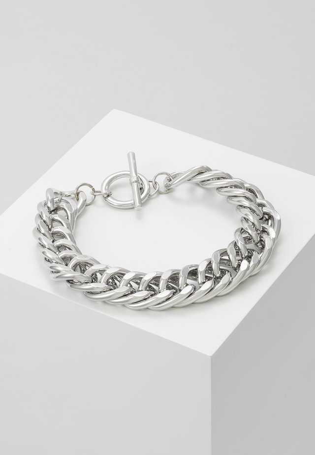 CHUNKY T BAR  - Armband - silver-coloured