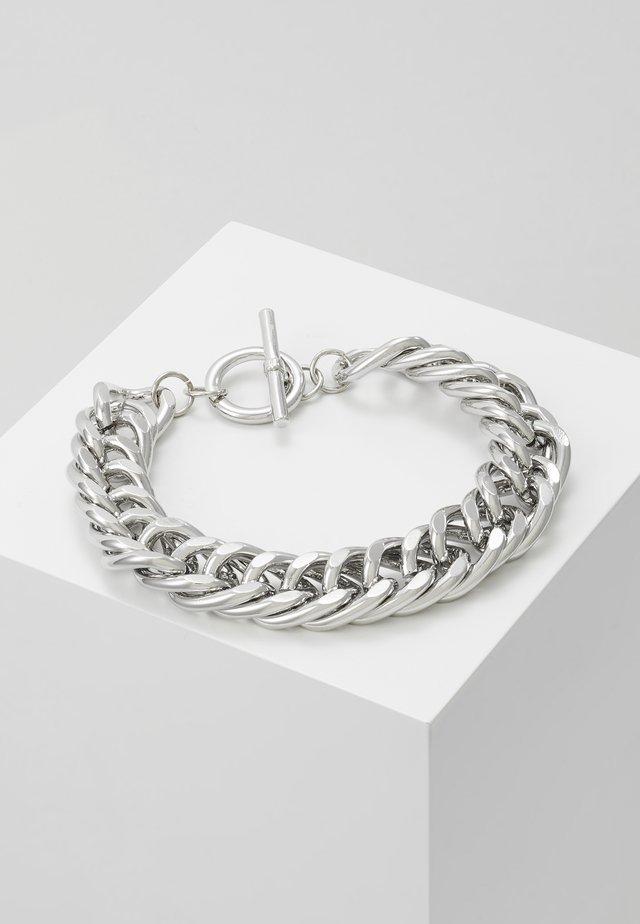 CHUNKY T BAR  - Pulsera - silver-coloured