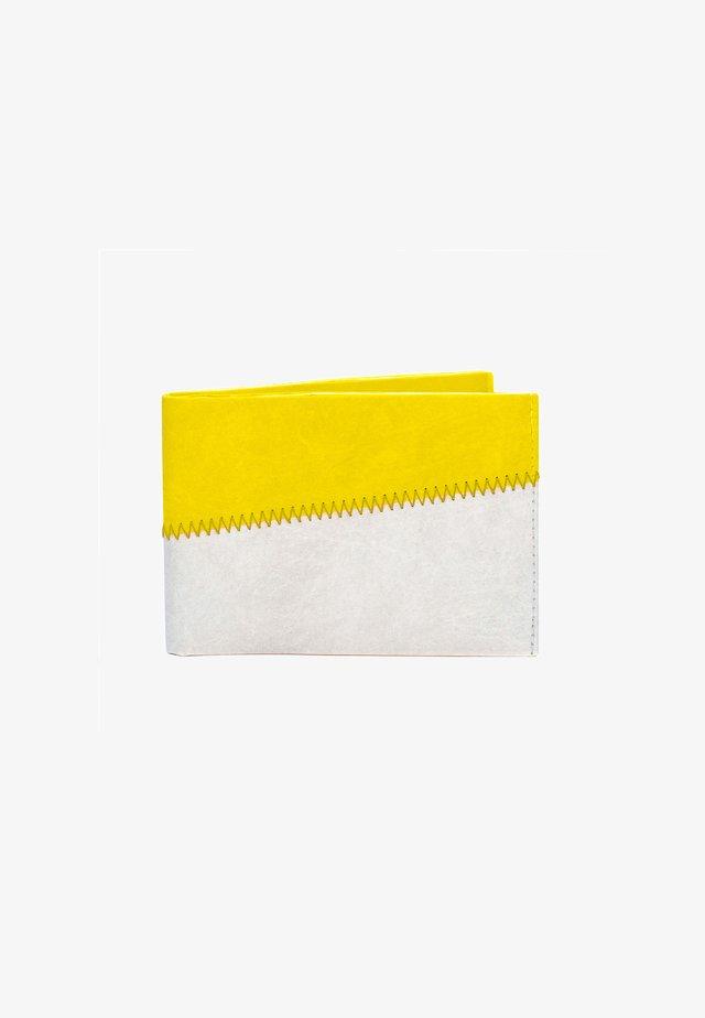 PORTEMONNAIE  - Portemonnee - grau / gelb