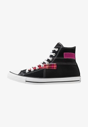 CHUCK TAYLOR ALL STAR - Höga sneakers - black/white/cactus flower