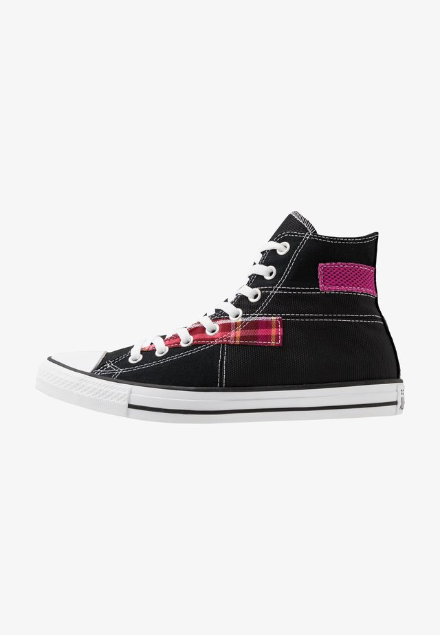 CHUCK TAYLOR ALL STAR - High-top trainers - black/white/cactus flower