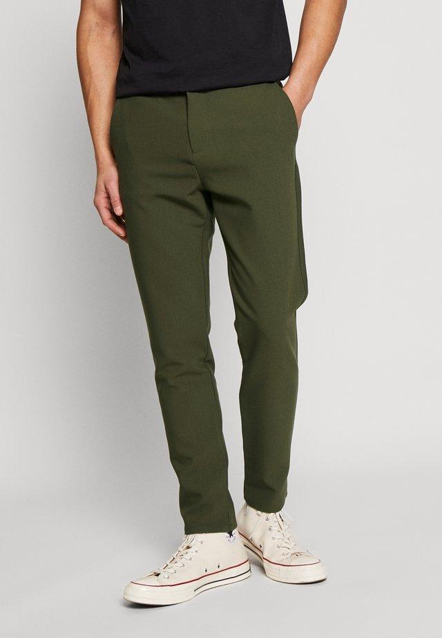 FRANKIE PANTS - Bukse - khaki