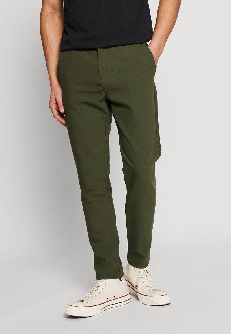 Samsøe Samsøe - FRANKIE PANTS - Kalhoty - khaki