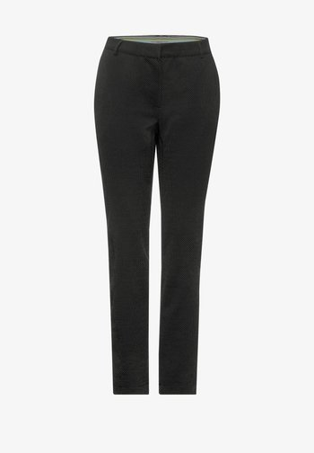 CASUAL FIT - Trousers - schwarz